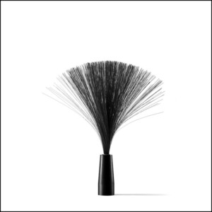 black fiber-roud adapter-light-painting-paradise