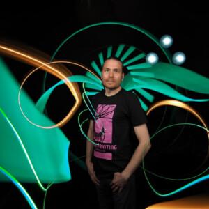 Ambassador-Janne-Parvianem-Camiseta-Light-Painting-Paradise