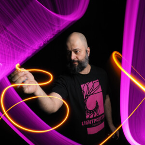 Ambassador-Luplof-light-painting-paradise T-shirt