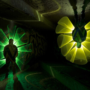Plexy-Tube-Amarillo-Verde-1 metro-Light-Painting-Paradise