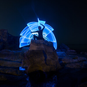 Plexy-Tube-Azul-1 metro-Light-Painting-Paradise