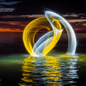 LightPainting paradise Workshop Denis Smith
