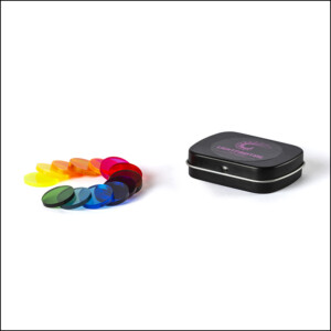 Filtros acrílicos de colores para linternas