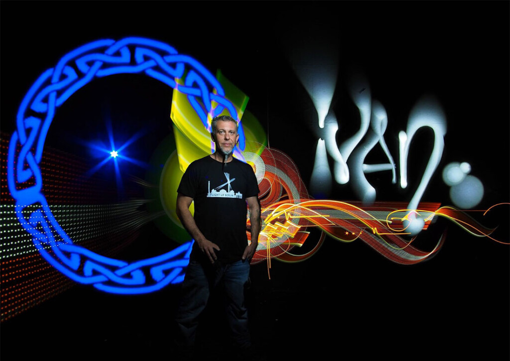 ivan light painting paradise